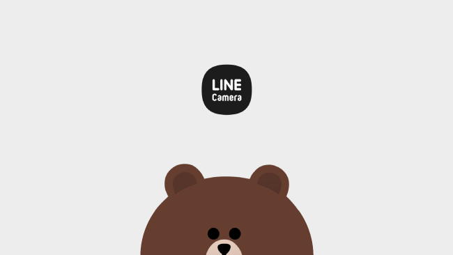 LINEカメラでオリジナルスタンプを作って、ロゴを画像に入れてみよう!