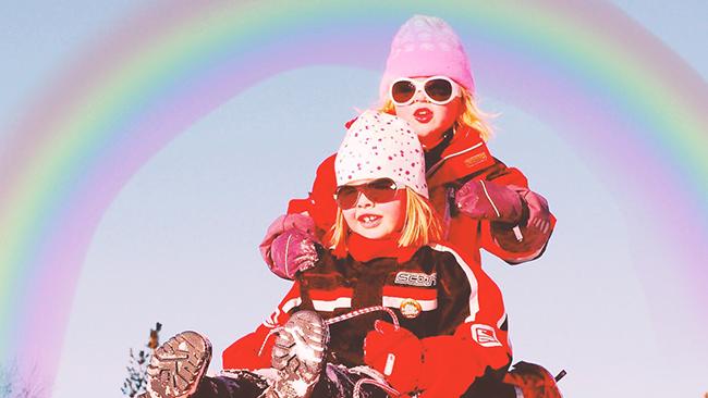 メルヘンチックで可愛さ1000%!「虹加工」で写真の中に虹を出現させてみよう